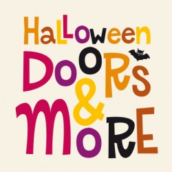 Lettering Halloween Dors & More