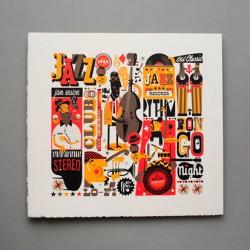 Jazzgrafía: Ilustración Personal hecha en Cádiz
