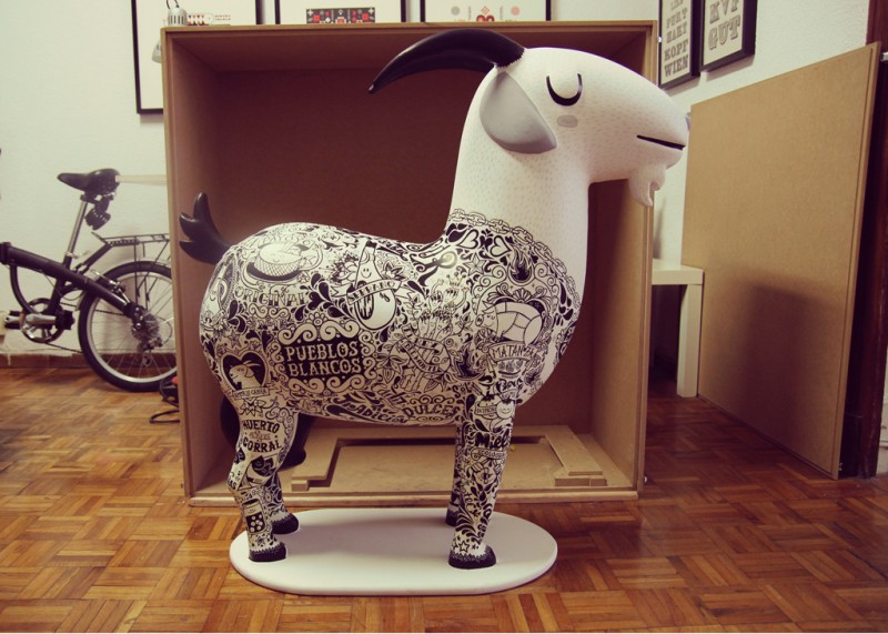 Creación de Mascota y decoración de la Cabra Payoya
