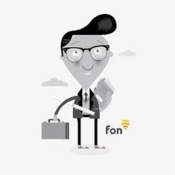Fon: Ilustración Corporativa. Character design.