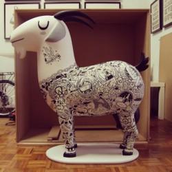 Depensa de recuerdos: Decoración de mascota Cabra Payoya