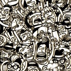 Ilustración Personal de Raúl Gómez, basada en el Caos