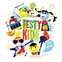 Cartel Festy Kids. Cádiz