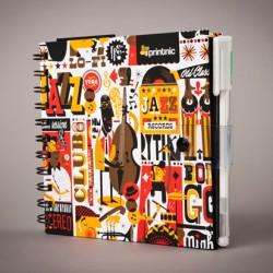Libreta negra: Printnic & Jazzgrafía de Raúl Gómez
