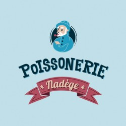 Logotipo Poissonerie Nadege