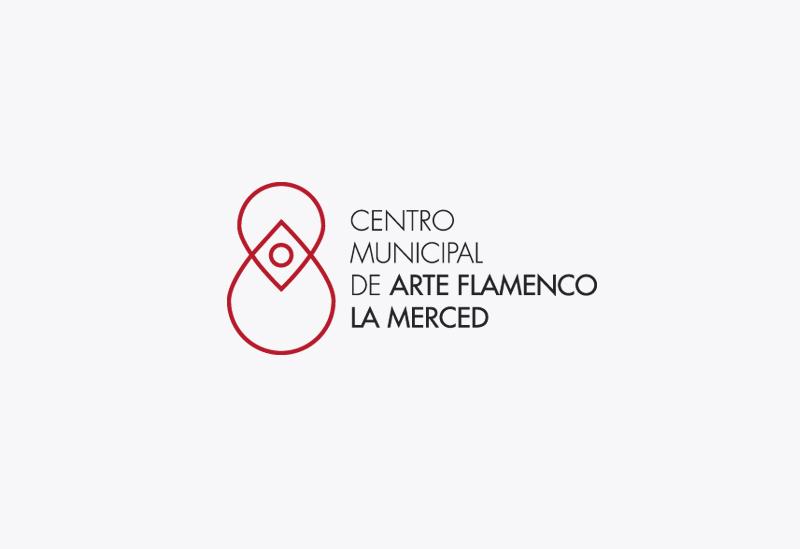 Logotipo Centro Municipal de Arte Flamenco La Merced. Cádiz