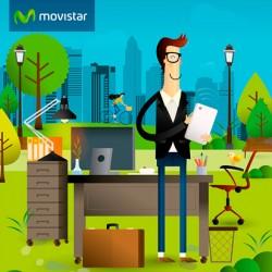 Ilustración para Movistar