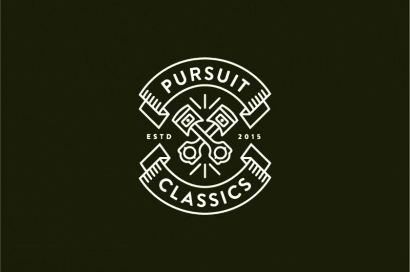 pursuit classics logo /www.raulgomez.es