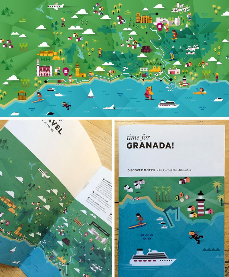 Puerto de Motril: Ilustraciones para publicación