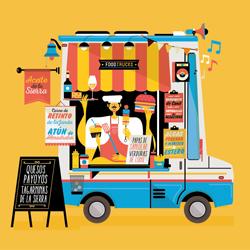 Ilustración para Cádiz Street Food