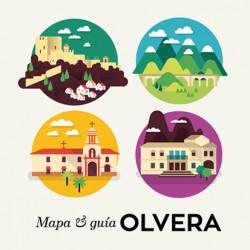 Portada para el Plano turístico de Olvera